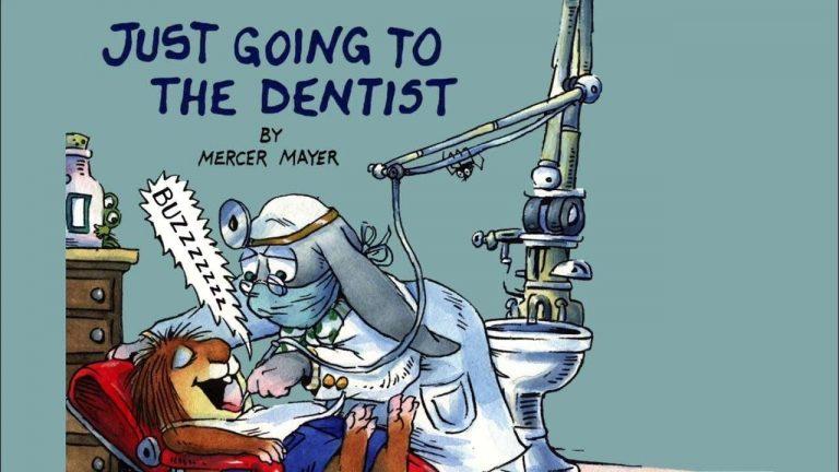 مجرد الذهاب إلى طبيب الأسنان