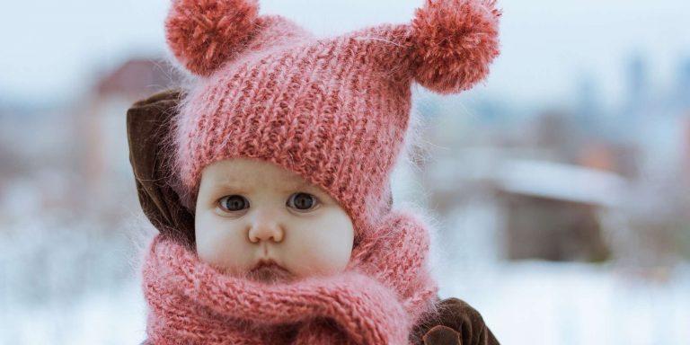 لبس المولود في الشتاء