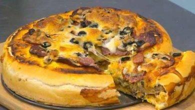 Photo of طريقة عمل تورتة البيتزا … أجمل الوصفات للبيتزا حول العالم
