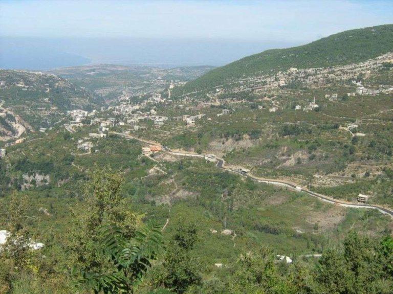 أسماء القرى اللبنانية