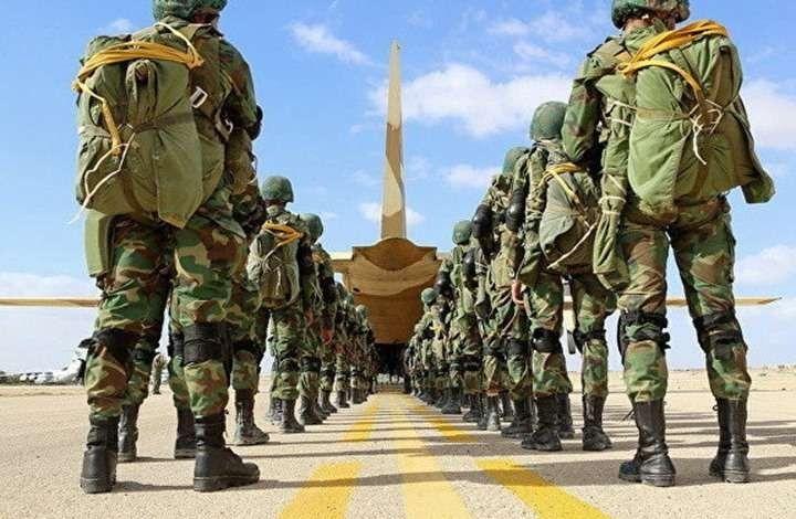 الاستعداد للدورة العسكرية