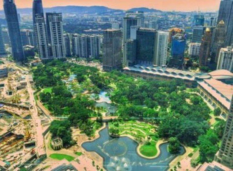 حديقة مركز مدينة كوالالمبور