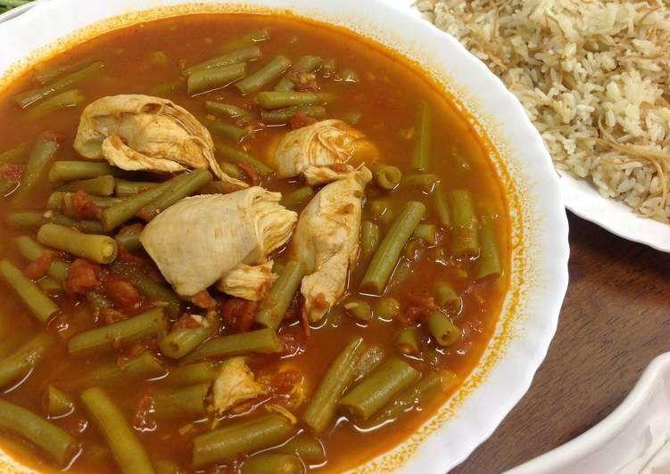 طريقة طبخ اللوبيا الخضراء