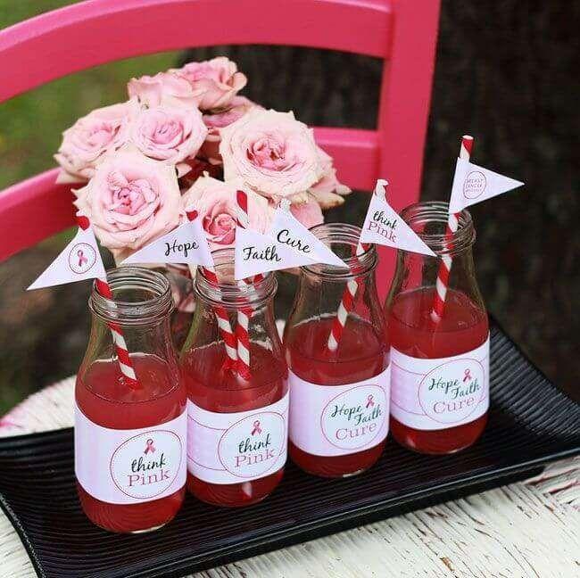 - حفلة تذوق المشروبات الوردية