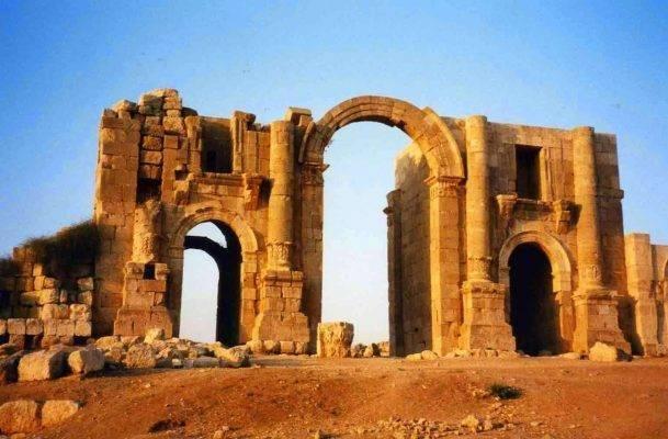 معلومات عن مدينة جرش في الفترة الرّومانيّة