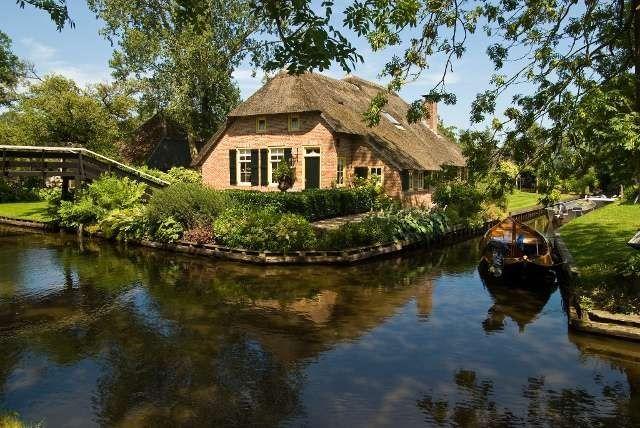 الحياة الريفية في هولندا