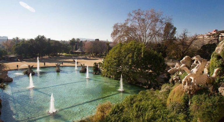 حديقة لا سيوتاديلا برشلونة