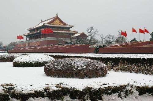 الطقس في الصين شتاءً