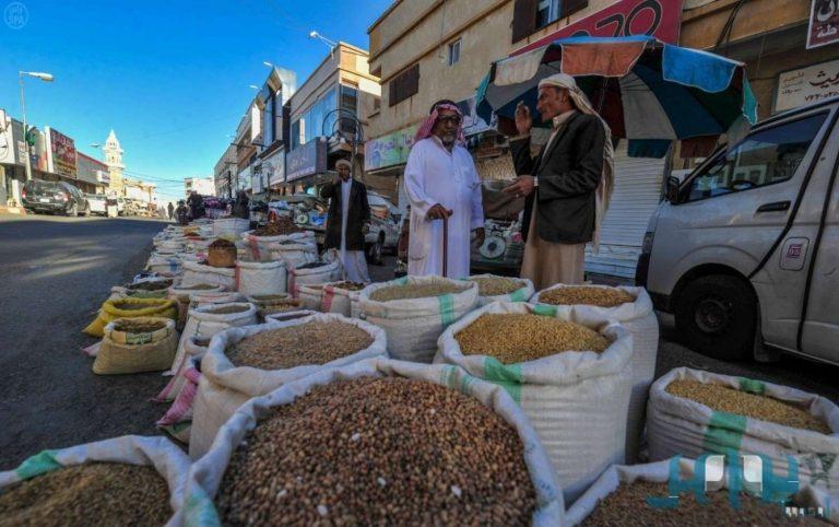 الأسواق الشعبية في الباحة