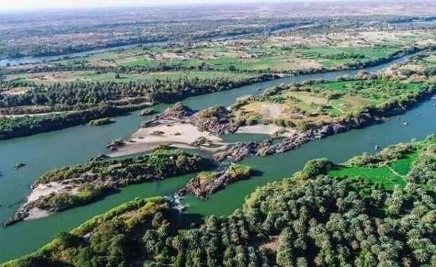 معلومات عن نهر النيل فى السودان