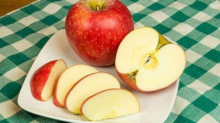 طريقة حفظ التفاح المقطع