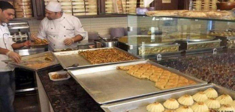 محلات حلويات مشهورة في عمان الأردن