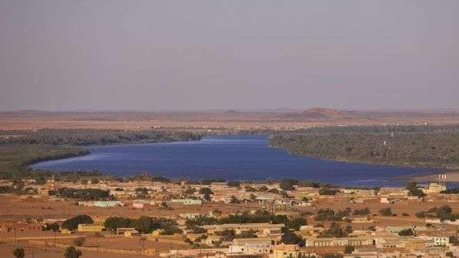 أين يقع نهر النيل فى السودان