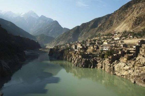 أين يقع نهر نهر السند