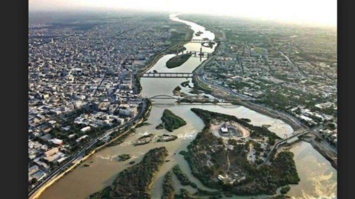 أين يقع نهر الكارون