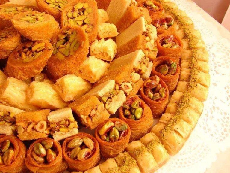 حلويات مشهورة في بلاد الشام