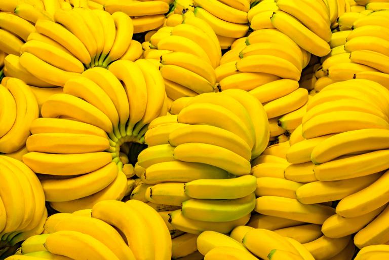 طريقة حفظ الموز