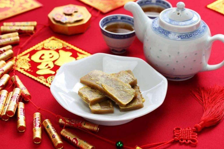 حلويات مشهورة في الصين