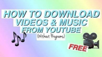 Photo of طريقة حفظ اليوتيوب بدون برنامج .. طرق سريعة لحفظ فيديوهات اليوتيوب بدون برامج