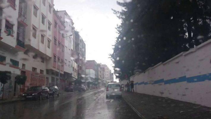 الطقس في المغرب شتاءً