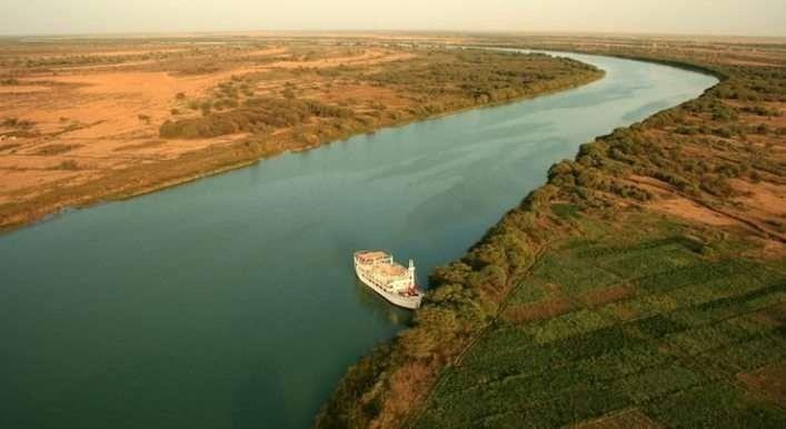 لمحة تاريخية عن نهر السنغال...