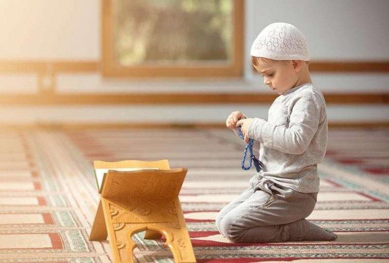 ترغيب الاطفال بالصلاة