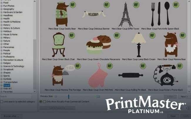 PrintMaster v8 Platinum