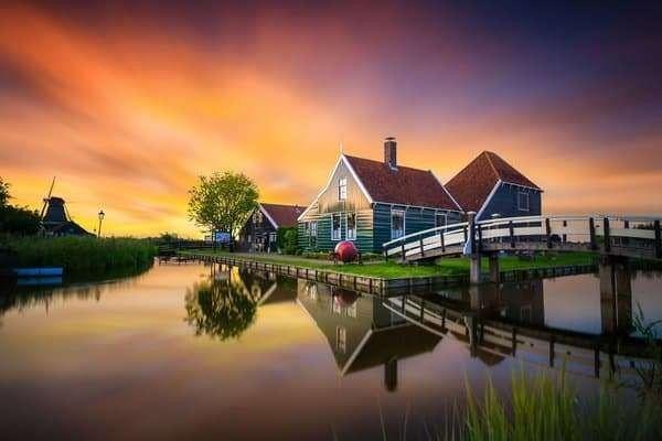 طقس هولندا في شهر يونيو..