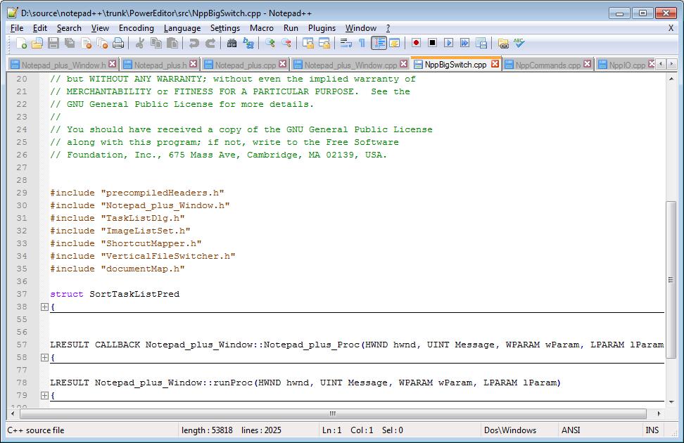 Notepad - افضل برامج النوت 5