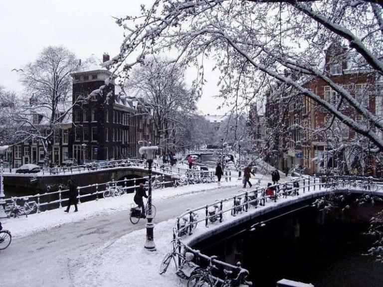 السياحة في هولندا في الشتاء..
