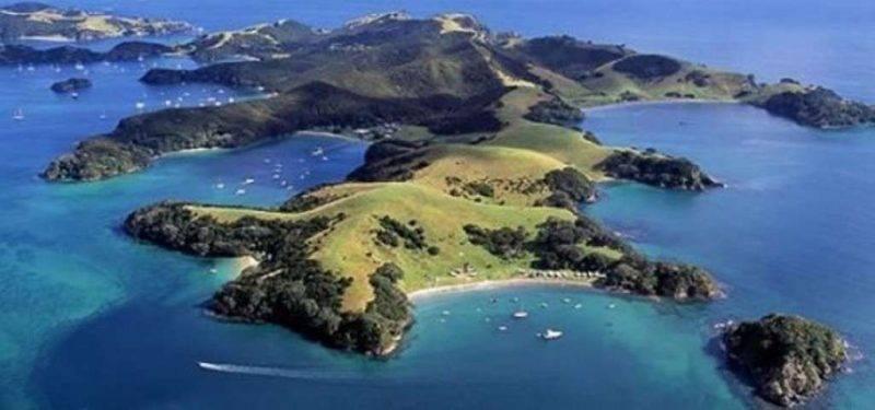خليج الجزر - السياحة في نيوزيلندا 2019