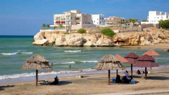 شاطئ القرم - السياحة في عمان مسقط 2019