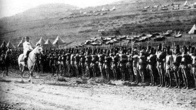 صورة احداث معركة ميسلون