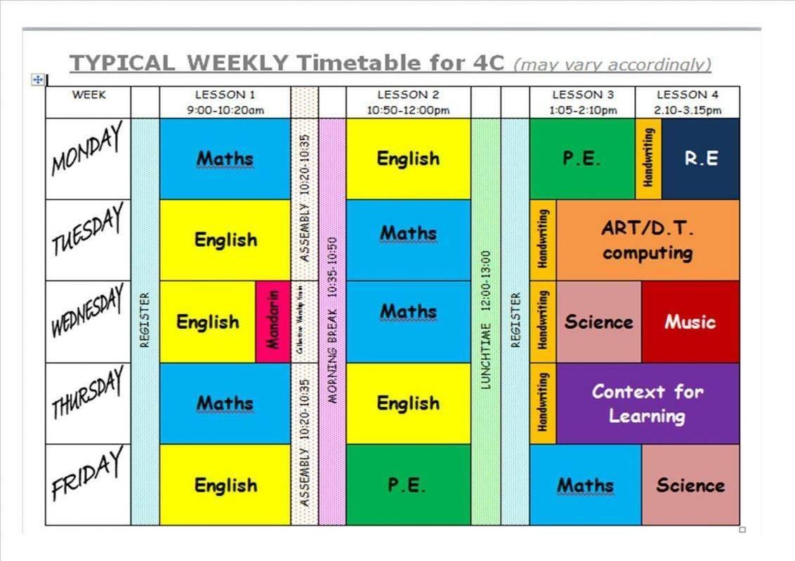 Handy Timetable