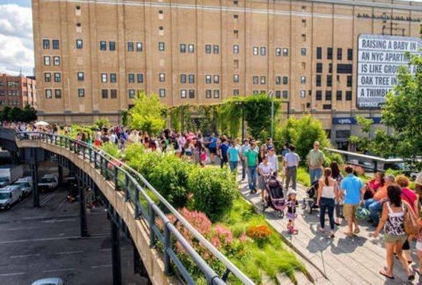 High Line - السياحة في نيويورك 2019