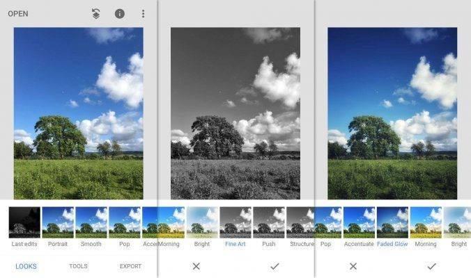برنامج Snapseed