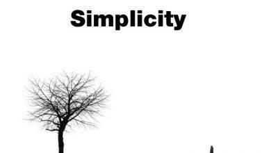 صورة حكم بالانجليزي عن البساطة
