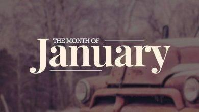 صورة مواليد شهر يناير من العظماء