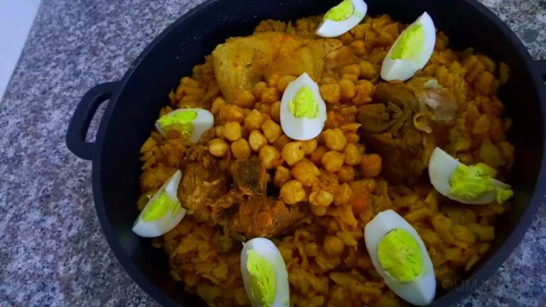 طريقة عمل الشخشوخة الجزائرية