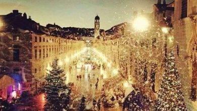 صورة الشتاء في كرواتيا
