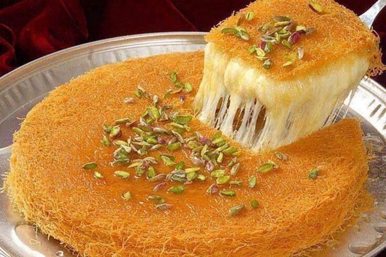 طريقة عمل الكنافة اللبنانية