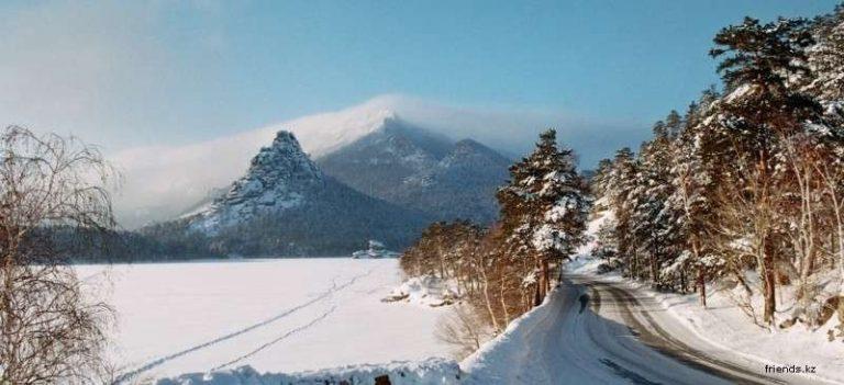 الشتاء في كازاخستان