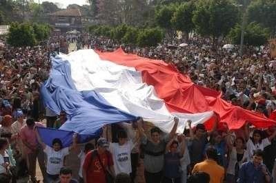 عدد سكان دولة باراغواي