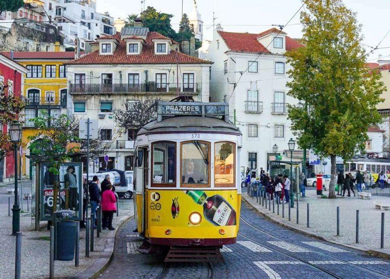 الشتاء في البرتغال