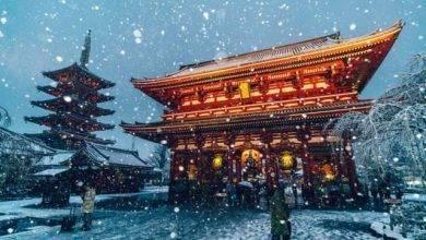 Photo of الشتاء في طوكيو