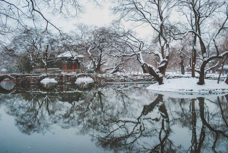 فصل الشتاء في كوريا الجنوبية