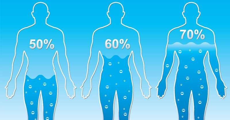 كم تبلغ نسبة الماء في جسم الإنسان موقع معلومات