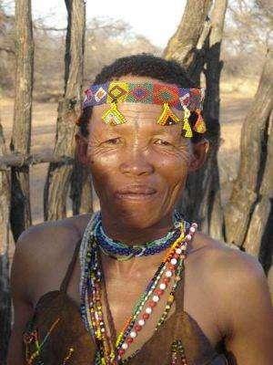أصل السّكّان في ناميبيا