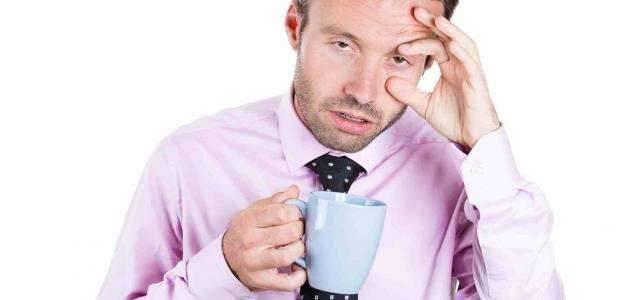 أعراض عدم النوم