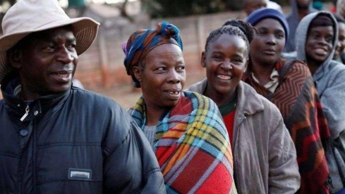 التّركيبة السّكّانيّة في دولة زيمبابوي